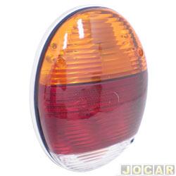 Lanterna traseira tuning - alternativo - Inovox (RCD) - Fusca Fafá 1981 até 1996 - linha Evolution - (aplicação nos modelos Fafa) - tricolor - cada (unidade) - I2012