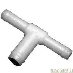 Distribuidor T - alternativo - Fusca  - grande - boca larga - cada (unidade)