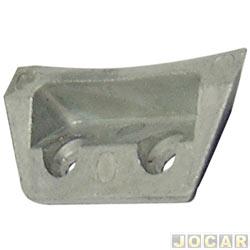 Batente da fechadura do capô traseiro - Kombi - até 1996 - cada (unidade)