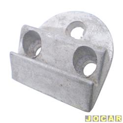 Batente da fechadura da porta - alternativo - Kombi 1500 - 1967 até 1975 - dianteira - metal - cada (unidade)