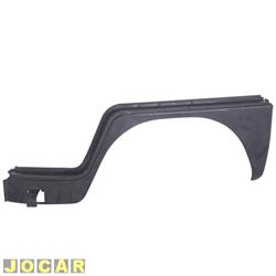 Para-lama dianteiro - alternativo - Kombi 1200/1500 1957 até 1975 - para pintar - lado do motorista - cada (unidade)