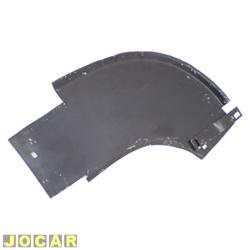 Saia do para-choque - alternativo - Kombi 1957 até 1996 - traseira - para pintar - lado do motorista - cada (unidade)