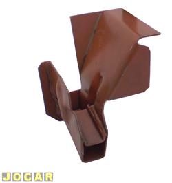Suporte do macaco - Estriguarú - Kombi 1957 até 1996 - dianteiro - esquerdo - para pintar - cada (unidade) - K.128E