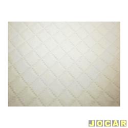 Forração do teto (tapeçaria) - alternativo - Kombi 1976 até 1996 - branca - jogo