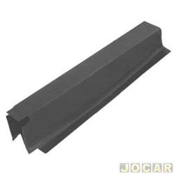 Remendo lateral - alternativo - Kombi 1967 até 1997 - da coluna interna - para pintar - lado do motorista - cada (unidade)