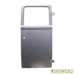 Porta - Kombi cliper 1983 até 1997 - porta central direita(diant) - para pintar - lado do passageiro - cada (unidade)