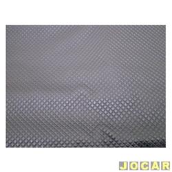 Forração do teto (tapeçaria) - Kombi - 1976 até 1996 - com relevo xadrez - preta - jogo
