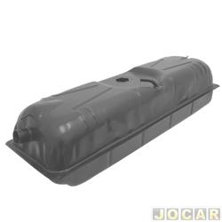 Tanque de combustível - alternativo - Igasa - Kombi 1989 até 1997  - 46L - bóia de encaixe - com gargalo - cada (unidade) - 1302-A