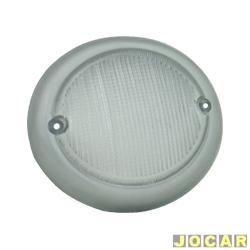 Lente da lanterna dianteira - alternativo - Artmold - Kombi 1500/1200 - cristal (branca) - lado do passageiro - cada (unidade) - 1312