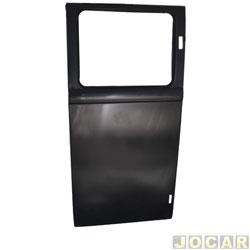 Folha de porta - Kombi 1976 até 1996 - meio  - para pintar - lado do motorista - cada (unidade)