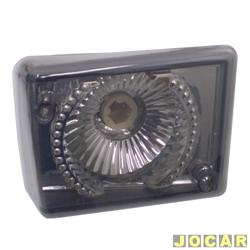 Lanterna dianteira tuning - alternativo - Inovox (RCD) - Kombi Clipper 1976 até 1997 - linha Evolution - fumê - lado do passageiro - cada (unidade) - I2432