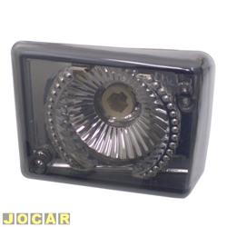 Lanterna dianteira tuning - alternativo - Inovox (RCD) - Kombi Clipper 1976 até 1997 - linha Evolution - fumê - lado do motorista - cada (unidade) - I2433