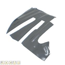 Assoalho - alternativo - Brasilia 1973 até 1982 - sobrepor do pedal - de plástico - lado do motorista - cada (unidade)