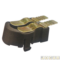 Soquete da lanterna traseira - alternativo - Passat 1974 até 1989 - cada (unidade)