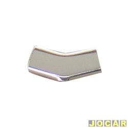 Arremate do friso - Passat 1974 até 1985 - 2 e 3 portas - diagonal - superior - cada (unidade)