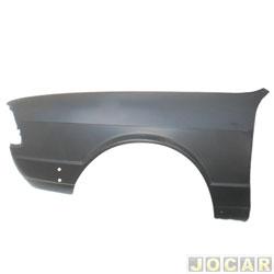 Para-lama dianteiro - alternativo - Passat 1986 até 1989 - para pintar - lado do motorista - cada (unidade)