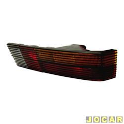 Lanterna traseira - alternativo - Cofran - Passat 1973 até 1989 - com frisos pretos - tricolor - lado do passageiro - cada (unidade) - 3330.4