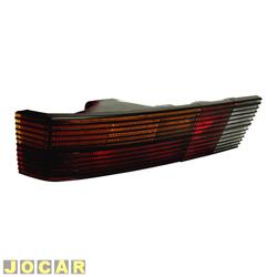 Lanterna traseira - alternativo - Cofran - Passat 1973 até 1989 - com frisos pretos - tricolor - lado do motorista - cada (unidade) - 3331.4