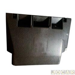 Tampa do porta objetos - alternativo - AutoPlast  - Passat 74/89 - Acabamento Central inferior Painel de Instrumento - preto - cada (unidade) - AP 150