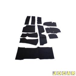 Forração - alternativo - Variant - carpete - preta - jogo