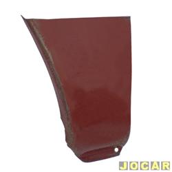 Remendo do para-lama - alternativo - TL - Variant - 1970 até 1977 - inferior traseiro - para pintar - lado do passageiro - cada (unidade)