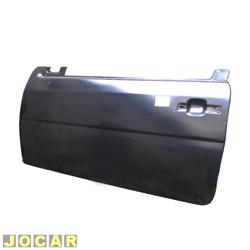 Folha de porta - alternativo - Gol/Parati/Saveiro 1995 até 1999 - Bola - 2 portas - para pintar - lado do motorista - cada (unidade)