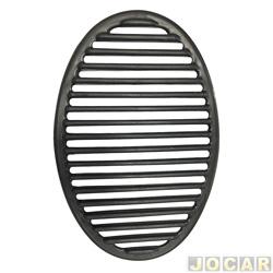 Tela do alto-falante - Gol 1995 até 1999 (Special) - cinza escuro - cada (unidade)