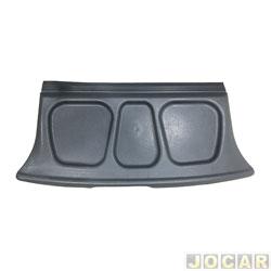 Tampão do porta-malas - alternativo - Gol 1995 até 1999 - 2 e 4 portas - cinza - cada (unidade)