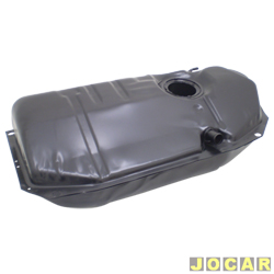 Tanque de combustível - alternativo - Igasa - Gol bola - 1994 até 1996 - Parati bola 1995 até 1996 - 55 Litros-chapa de aço - preto - cada (unidade) - 1607