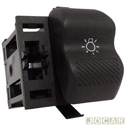 Interruptor do farol - Kostal - Gol 1995 até 1999 - sem reostato - luz amarela - cada (unidade) - 3109035