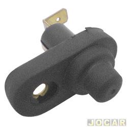 Interruptor de porta - alternativo - Gol/Parati/Saveiro - 1995 até 2008 - preto - cada (unidade)