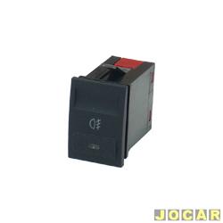 Interruptor do farol de milha - Gol/Parati/Saveiro 2000 até 2005 - cada (unidade)