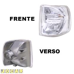 Lanterna dianteira tuning - alternativo - Inovox (RCD) - Gol/Parati/Saveiro/Voyage 1991 até 1994 - Evolution - encaixe Arteb/Cibie - cristal (branca) - lado do motorista - cada (unidade) - I2139