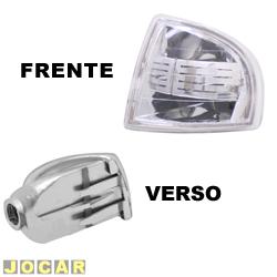 Lanterna dianteira tuning - alternativo - Inovox (RCD) - Gol/Parati/Saveiro 1995 até 1999 - Evolution - encaixe Cibié - cristal (branca) - lado do motorista - cada (unidade) - I2361