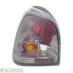 Lanterna traseira tuning - alternativo - Inovox (RCD) - Gol 1995 até 1999 - linha Evolution - encaixe Cibié - fumê - lado do motorista - cada (unidade) - I2149