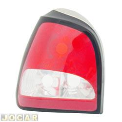 Lanterna traseira tuning - alternativo - Godks - Gol 1995 até 1999  - modelo Look 2000 - encaixe Cibié - bicolor - lado do motorista - cada (unidade) - 6108413E