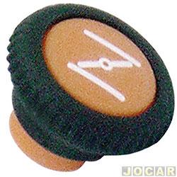Botão do afogador - alternativo - Gol/Parati/Saveiro/Voyage 1980 até 1987 - cada (unidade)