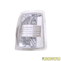Lanterna dianteira tuning - alternativo - Inovox (RCD) - Gol/Parati/Saveiro/Voyage 1987 até 1990 - Evolution- encaixe Cibié/Arteb - branca - lado do passageiro - cada (unidade) - I2288