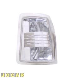 Lanterna dianteira tuning - alternativo - Inovox (RCD) - Gol/Parati/Saveiro/Voyage 1987 até 1990 - linha Evolution - encaixe Arteb/Cibié - branca - lado do motorista - cada (unidade) - I2289