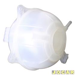 Reservatório de água do radiador - Flório - Gol/Parati/Saveiro 2000 até 2008 - Golf 1995 até 1998 - Passat 1991 até 1996 - com furo para sensor - sem tampa - cada (unidade) - F-418