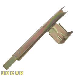 Guia do vidro da porta - Gol 1995 até 2008 - pequeno - traseiro - lado do motorista - cada (unidade)
