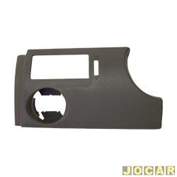Moldura do painel de instrum. - alternativo - Gol/Parati/Saveiro 2000 até 2005 - cinza claro - lado do motorista - cada (unidade)