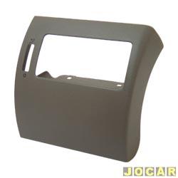 Moldura do painel de instrum. - alternativo - Gol 2000 até 2005 GIII - cinza claro - lado do passageiro - cada (unidade)