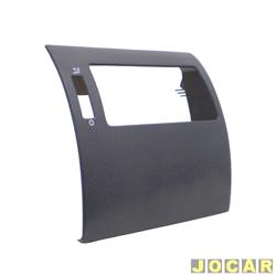 Moldura do painel de instrum. - alternativo - Gol/Parati/Saveiro 2000 até 2005 - cinza escuro - lado do passageiro - cada (unidade)