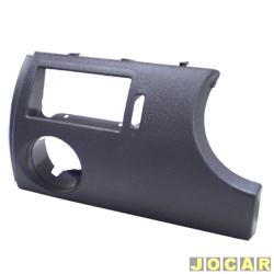 Moldura do painel de instrum. - alternativo - Gol/Parati/Saveiro 2000 até 2005 - cinza escuro - lado do motorista - cada (unidade)