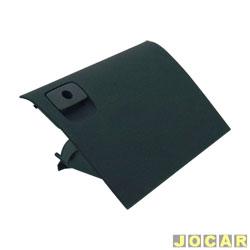 Tampa do porta-luvas - alternativo - Gol 2000 até 2005 GIII - cinza escuro - cada (unidade)