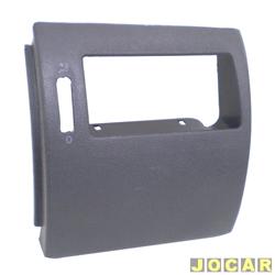 Moldura do painel de instrum. - alternativo - Gol/Parati/Saveiro 2000 até 2005 - preta - lado do passageiro - cada (unidade)