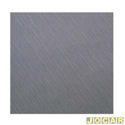 Forração do teto (tapeçaria) - alternativo - Gol 1980 até 1986 - cinza - jogo