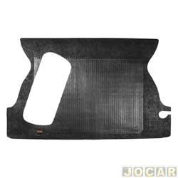 Tapete do porta-malas de borracha - Borcol - Gol 1984 até 1994 com estepe no porta-malas - preto - cada (unidade) - 01116051