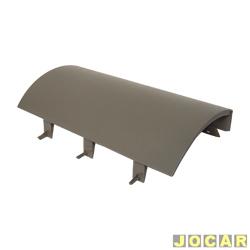 Tampa do air-bag - alternativo - Gol - Parati - Saveiro - 2000 até 2005 - cinza claro - cada (unidade)